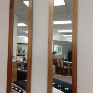 Blackwood slimline mirrors