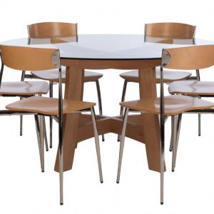 Baba Table and Chairs - 6 Seater