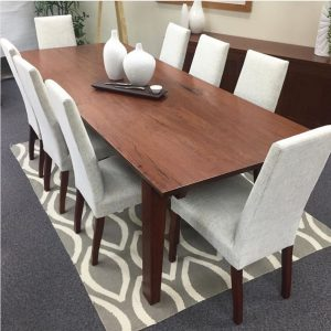 Petherbridge red gum slab Dining table