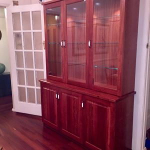 Red Gum Buffet and Hutch