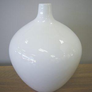 White Sphere Vessel